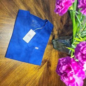 BNWT Figs Limited Edition Winning Blue  Scrub Top!
